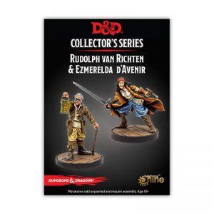 Gale Force Nine Dungeons & Dragons  D&D Miniatures D&D: Ezmerelda D'Avenir & Rudolph Van Richten - GFN71051 - 9420020231153