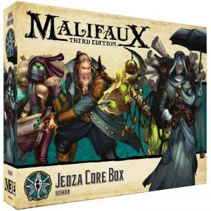 Wyrd Malifaux  The Explorer's Society Explorer's Society Jedza Core Box - WYR23813 - 812152033078