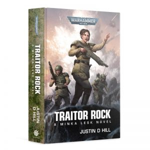 Games Workshop   Warhammer 40000 Books Traitor Rock (hardback) - 60040181786 - 9781789992311