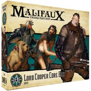 Wyrd Malifaux  The Explorer's Society Explorer's Society Lord Cooper Core Box - WYR23801 - 812152032934