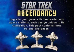 Battlefront Star Trek: Ascendancy  Star Trek Ascendancy Star Trek Ascendancy: Ferengi Starbases - ST033 - 9420020237421