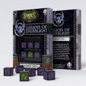 Q-Workshop   Q-Workshop Dice Hordes Legion of Everblight D6 Dice (6) - SPHO52 - 5907699492237