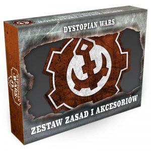 Warcradle Dystopian Wars  Dystopian Wars Dystopian Wars Rules & Gubbins Set - Polish - DWA990011 -