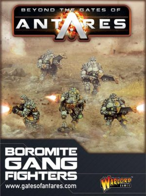 Warlord Games Beyond the Gates of Antares  SALE! Boromite Gang Fighters - WGA-BOR-02 - 5060393701255