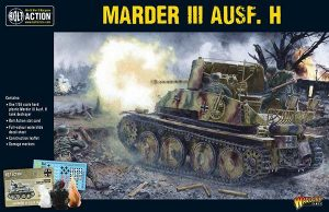 Warlord Games Bolt Action  Germany (BA) Marder III Ausf. H - 402012024 - 5060393708537