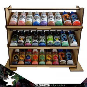 The Colour Forge   Paint Racks Stack a Rack Paint Rack Set (3 tiers) - TCF-ACC-007 - 5060843100706
