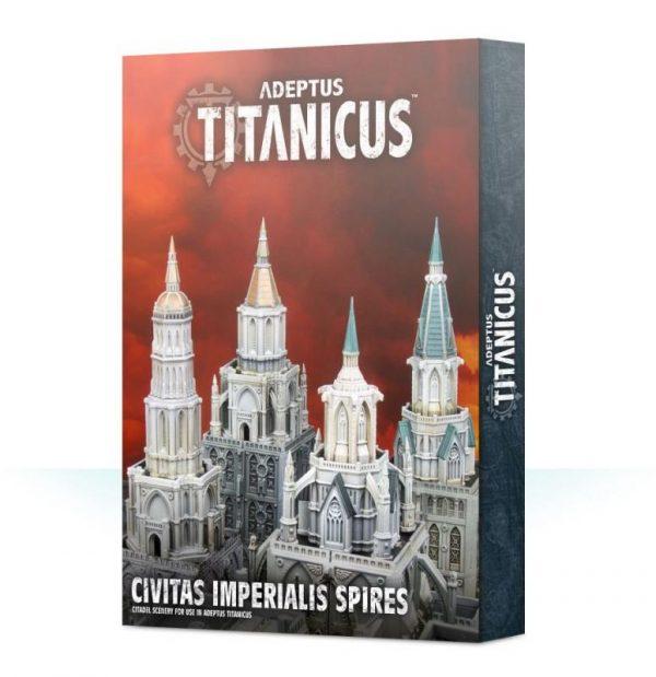 Games Workshop (Direct) Warhammer 40,000  Adeptus Titanicus Civitas Imperialis Spires - 99120399012 - 5011921122370