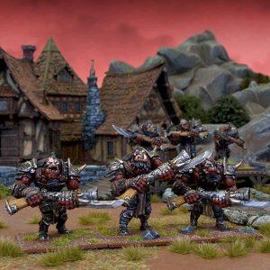 Mantic Kings of War  Ogres Ogre Shooter Horde - MGKWH12-1 - 5060208864878