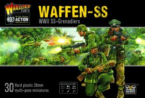 Warlord Games Bolt Action  Germany (BA) Waffen SS Grenadiers - 402012101 - 5060393709992
