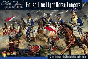 Warlord Games Black Powder  Polish (Napoleonic) Napoleonic Polish Line Light Horse Lancers - 302212001 - 5060393707943