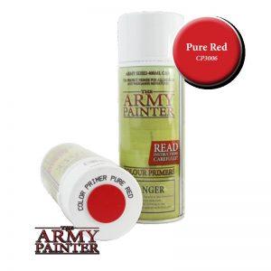 The Army Painter   Spray Paint AP Spray: Pure Red - APCP3006 - 2540101130063