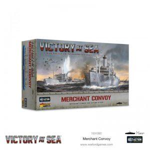 Warlord Games Victory at Sea  Victory at Sea Victory at Sea: Merchant Convoy - 742419901 - 5060572506787