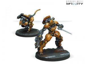 Corvus Belli Infinity  Yu Jing Su-Jian Immediate Action Unit - 280381-0568 - 2803810005689
