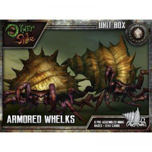 Wyrd The Other Side  Gibbering Hordes Armored Whelks - WYR40203 - 812152030312