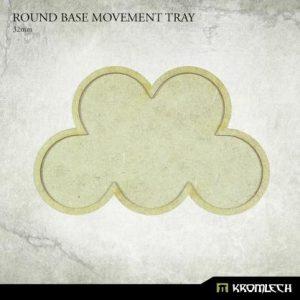 Kromlech   Movement Trays Round Base Movement Tray - 32mm (5) - KRHB036 - 5902216119598