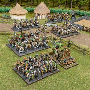 Mantic Kings of War  Halflings Halfling Army - MGKWHF101 - 5060469667249