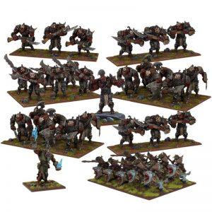Mantic Kings of War  Ogres Ogre Mega Army - MGKWH108 - 5060469661193
