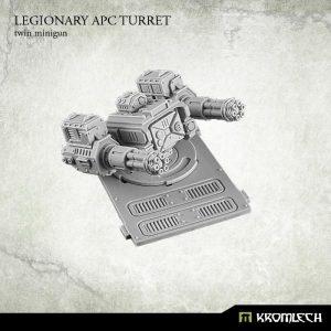 Kromlech   Legionary Conversion Parts Legionary APC turret: Twin Minigun (1) - KRVB025 - 5902216113763
