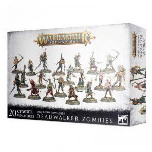 Games Workshop Age of Sigmar  Soulblight Gravelords Soulblight Gravelords Deadwalker Zombies - 99120207092 - 5011921141326