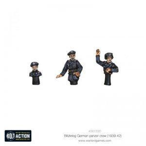 Warlord Games Bolt Action  Germany (BA) Blitzkrieg German Panzer Crew (1939-42) - 403012020 - 5060572501775