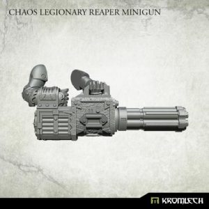 Kromlech   Heretic Legionary Conversion Parts Chaos Legionary Reaper Minigun (4) - KRCB234 - 5902216119178
