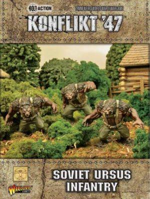 Warlord Games Konflikt '47  SALE! Soviet Ursus Infantry - 452210803 - 5060393705727