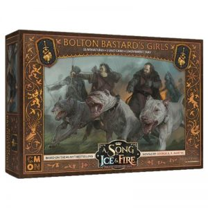 Cool Mini or Not A Song of Ice and Fire  Neutral A Song of Ice and Fire: Bolton Bastard's Girls - CMNSIF502 - 889696007889