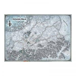 Gale Force Nine Dungeons & Dragons  D&D Game Mats D&D: Icewind Dale - Map - GFN72806 - 9420020252189