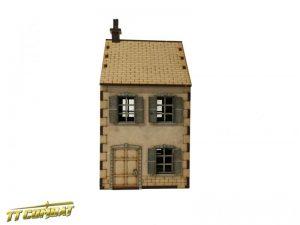 TTCombat   World War Scenics 28mm Terrace House - WAR030 - 5060504042796