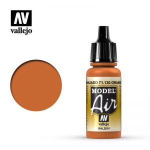 Vallejo   Model Air Model Air: Orange Rust - VAL130 - 8429551711302