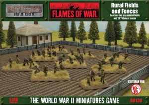 Gale Force Nine   Battlefield in a Box Flames of War: Rural Fields and Fences - BB138 - 9420020219403