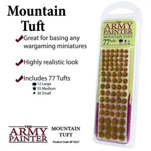 The Army Painter   Tufts Battlefields: Mountain Tuft - APBF4227 - 5713799422704