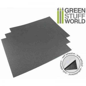 Green Stuff World   Magnets Rubber Steel Sheet - Self Adhesive x1 - 8436554360475ES - 8436554360475