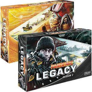 Z-Man Games Pandemic  Pandemic BLACK - Pandemic Legacy Season 2 - ZMG71172 - 841333103316