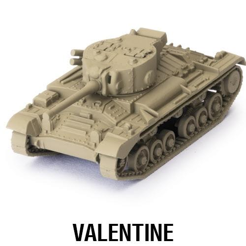Gale Force Nine World of Tanks: Miniature Game  SALE! World of Tanks Expansion - British Valentine - WOT05 - 9781945625916