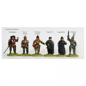 Perry Miniatures   Perry Miniatures Lancastrian command on foot - WR12 -