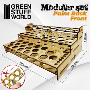 Green Stuff World   Paint Racks Modular Paint Rack - FRONT - 8436574503456ES - 8436574503456