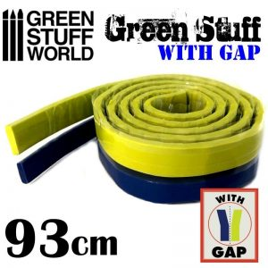 Green Stuff World   Modelling Putty & Green Stuff Green Stuff Tape 36.5 inches (with gap) - 8436574503609ES - 8436574503609