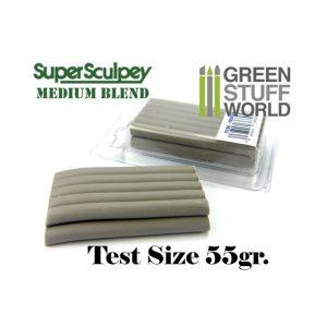 Green Stuff World   Modelling Putty & Green Stuff Super Sculpey Medium Blend 55 gr. - 8436554366958ES - 8436554366958