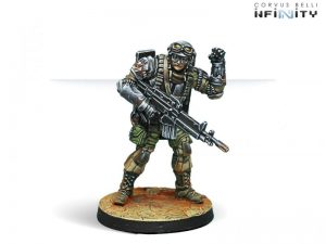 Corvus Belli Infinity  Ariadna The Unknown Ranger (Molotok) - 280185-0626 - 2801850006260