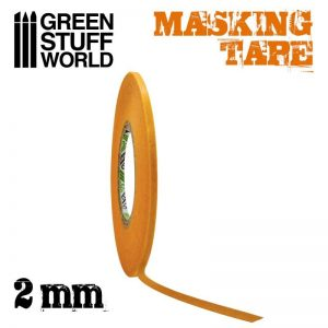 Green Stuff World   Airbrushes & Accessories Masking Tape - 2mm - 8436574505016ES - 8436574505016