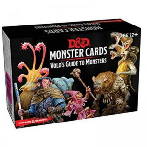 Gale Force Nine Dungeons & Dragons  D&D Decks D&D: Monster Cards Volo's Guide to Monsters - C7227000 - 9780786966851