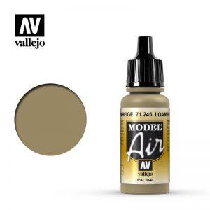 Vallejo   Model Air Model Air: Loam Beige - VAL71245 - 8429551712453