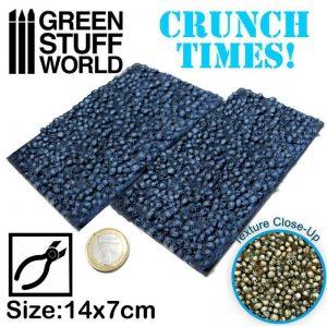 Green Stuff World   Modelling Extras Skull Plates - Crunch Times! - 8436574500271ES - 8436574500271