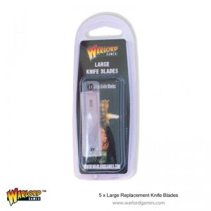 Warlord Games   Warlord Games Tools Large Replacement Knife Blades (5) - 843419913 - 5060572504110