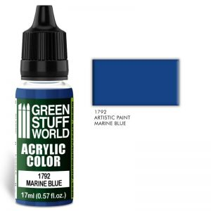 Green Stuff World   Acrylic Paints Acrylic Color MARINE BLUE - 8436574501513ES - 8436574501513