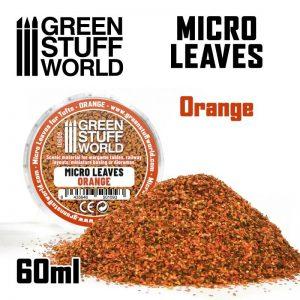 Green Stuff World   Lichen & Foliage Micro Leaves - Orange mix - 8435646501093ES - 8435646501093