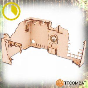 TTCombat   World War Scenics Warehouse Corner Extraction - TTSCW-WAR-059 - 5060570137877
