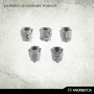 Kromlech   Heretic Legionary Conversion Parts Morbid Legionary Torsos (5) - KRCB169 - 5902216113985