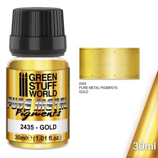 Green Stuff World   Pure Metal Pigments Pure Metal Pigments GOLD - 8436574507942ES - 8436574507942